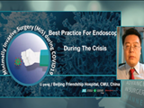 Best practice for endoscopy during the crisis - Peng Li