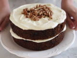 Keep your belly full! | Carrot cake recipe