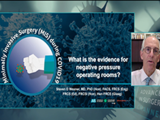 What is the evidence for negative pressure operating rooms | Wexner
