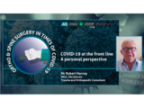 COVID-19 at the frontline a personal perspective | Dr. Robert Harvey