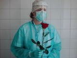 Rose for a nurse in