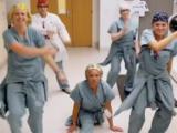 Nurses dancing TikTok #CoronavirusChallenge