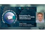 Precautions for Operating in a COVID-19 Environment | Dr. Andrej Trampuz