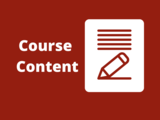 Course Content: A Primer of Cognitive Behavior Therapy