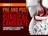PRE AND POST OPERATIVE CARE OF THE SURGICAL CANDIDATE