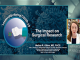 The impact on surgical research | Melina Kibbe