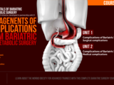 MANAGEMENT OF COMPLICATIONS FROM BARIATRIC AND METABOLIC SURGERY