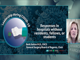 Responses in hospitals without residents, fellows, or students | Beth Sutton