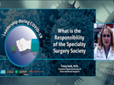 The responsibility of specialty surgery societies | Tracy Hull